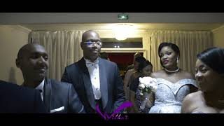 L'avant goût du mariage civil de Lorine & Amour en France (Congolese Wedding).