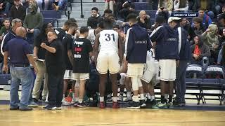 LHS Boys Basketball vs Lowell  1-12-18