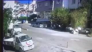 acıpayam 39 da trafik kazası kamera görüntüsü denizli haber haberdenİzlİ com