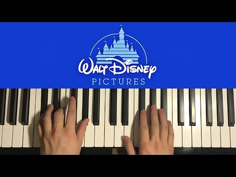 How To Play - Walt Disney Intro (PIANO TUTORIAL LESSON)