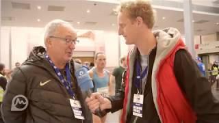 Interview mit Wolfgang Heinig beim Frankfurt Marathon 2017