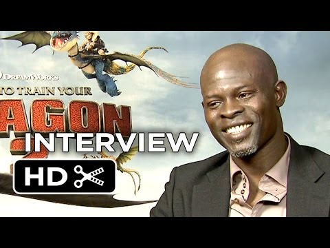 How To Train Your Dragon 2 Interview - Djimon Hounsou (2014)