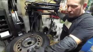 """""""Шиномонтаж Шиномаг :  Урок по монтажу и демонтажу шины"""""""