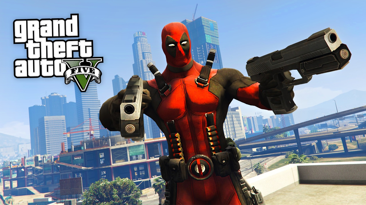 deadpool gta 5 mods youtube. Black Bedroom Furniture Sets. Home Design Ideas