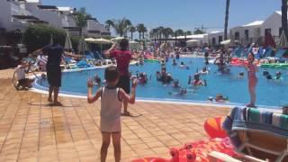Holiday Village Lanzarote May 2016 Flamingo Beach PoolParty Kou Kou Moves