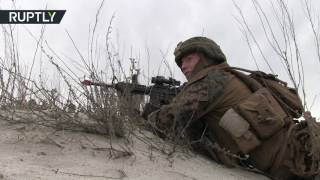'Spring Storm' 17  US Romanian troops conduct joint military drills off the Black Sea