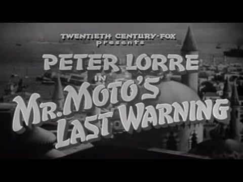 Mr  Moto in Mr Moto's Last Warning   1939   Peter Lorre