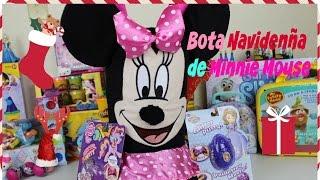 Bota Navideña de Minnie Mouse Con Sorpresas de My Little Pony| Mundo de Juguetes