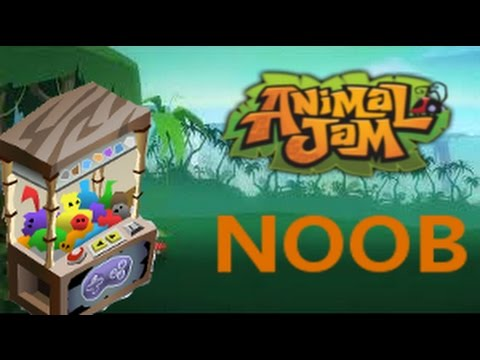 WHERE ARE THE CLAW MACHINES? - ANIMAL JAM NOOB #1 - YouTube