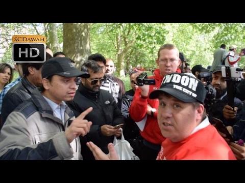 P1 - Debate Me!? Mansur Vs Jason (Christian) | Speakers Corner | Hyde Park