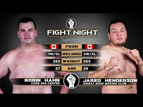 Fight Night 2: Medicine Hat - Robin Hahn vs Jared Henderson