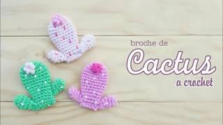 Broche de Cactus (crochet)