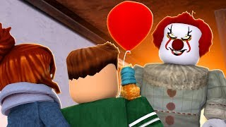 THE IT PAYASO CHASES MEL!! | Roblox with Mel