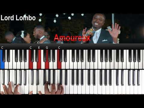 Download Lord Lombo - Amoureux (Rumba congolaise): Tutoriel Débutant PIANO QUICK