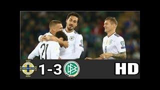 Download Video JERMAN MENGGILA /// Irlandia Utara 1 3 Jerman Kualifikasi Piala Dunia 2018 MP3 3GP MP4