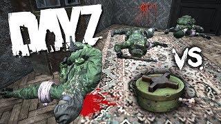 3 Cannibals 1 Landmine Dayz Beta