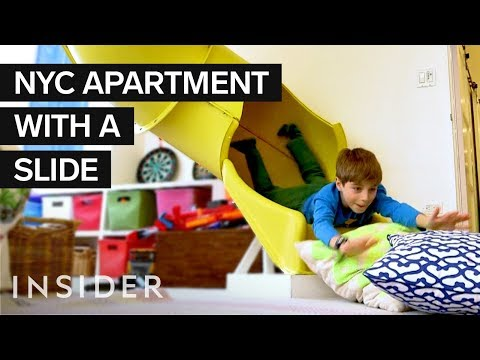 Inside A $7 Million NYC Kid's Dream Home With A Zipline And Slide | Dream Digs