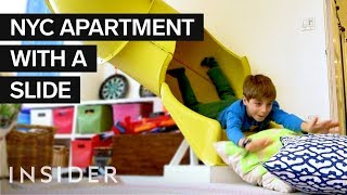 Download Inside A $7 Million NYC Kid's Dream Home With A Zipline And Slide | Dream Digs Mp3 and Videos