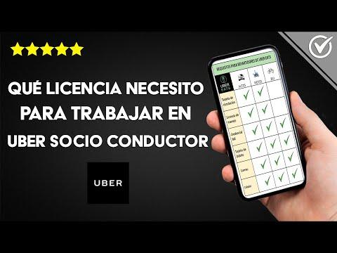 Qué Tipo de Licencia Necesito para Trabajar en Uber como Socio Conductor