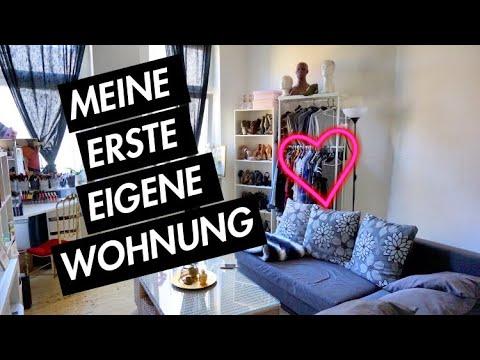 roomtour meine erste eigene wohnung beautybyv youtube. Black Bedroom Furniture Sets. Home Design Ideas