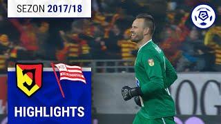 Jagiellonia Białystok - Cracovia 1:0 [skrót] sezon 2017/18 kolejka 23