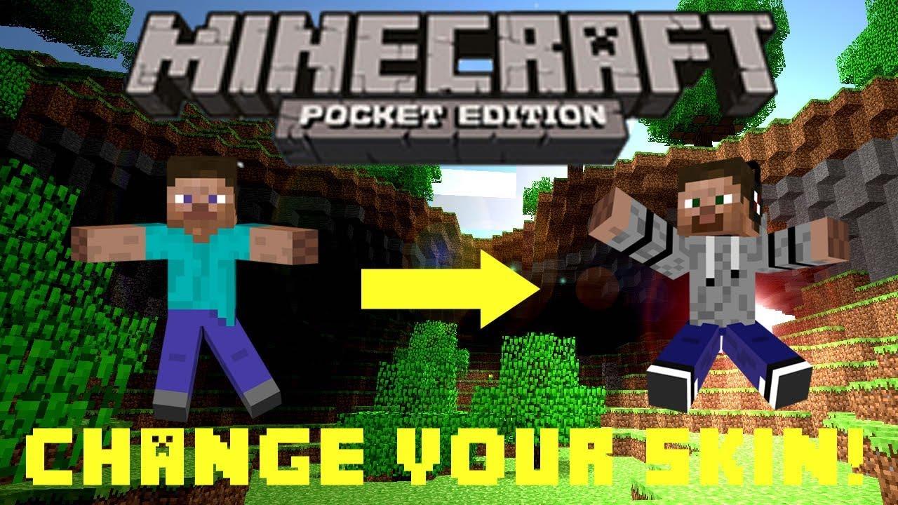 How To Get Skinsminecraft Pe YouTube - Minecraft skins fur ipad