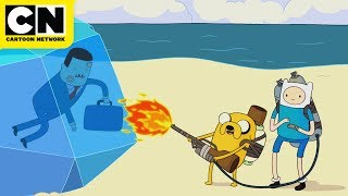 Business Dudes Help Out | Adventure Time | Cartoon Network