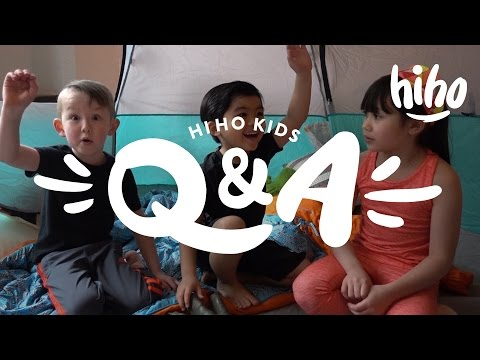 Tent Talks with The HiHo Kids | HiHo Kids