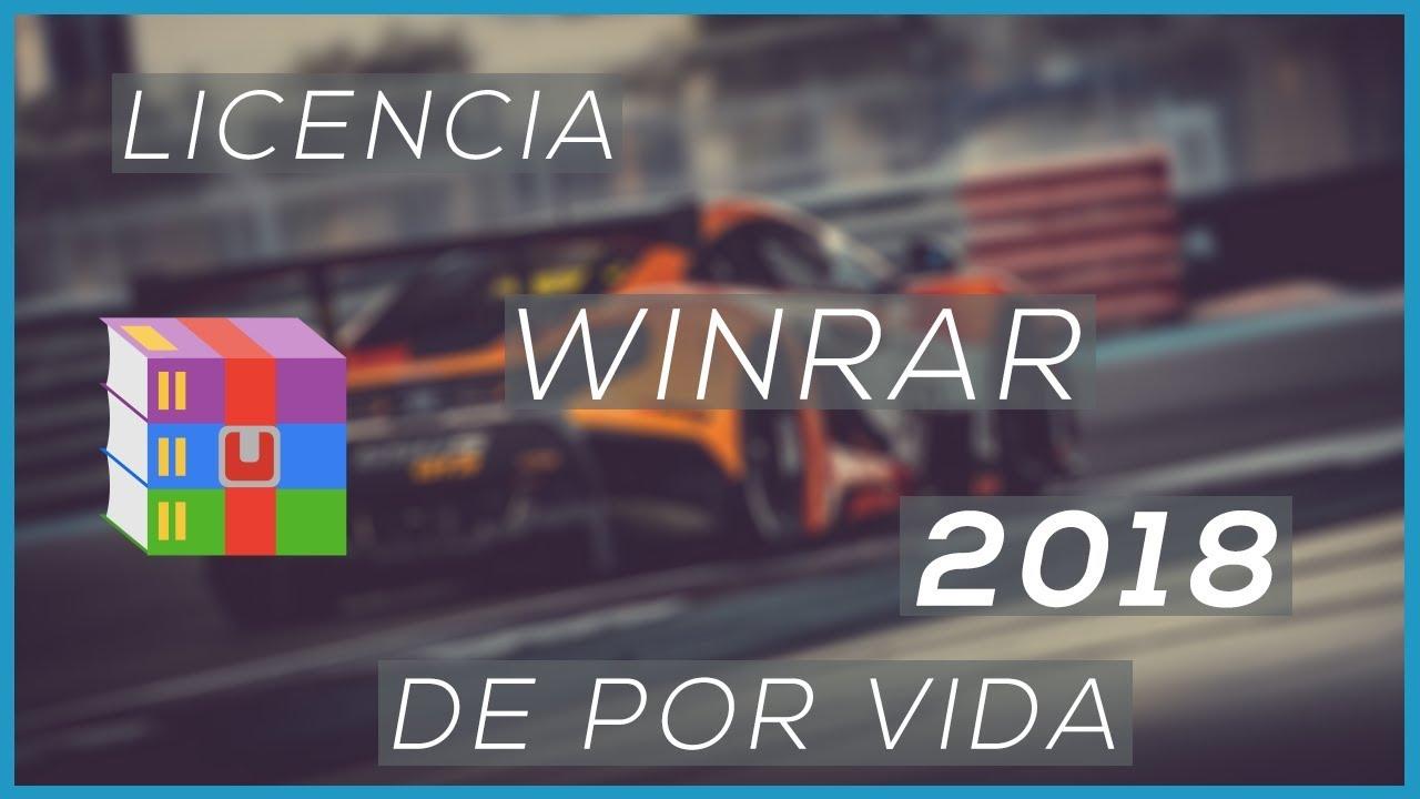 Descargar Licencia WinRAR 2018 De Por Vida – …
