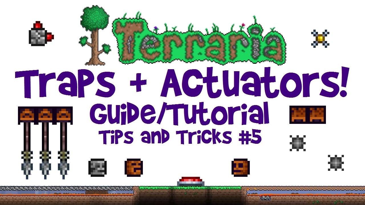 Terraria Traps Tutorial Actuator Guide Tips Tricks For Events 13 Consolemobile