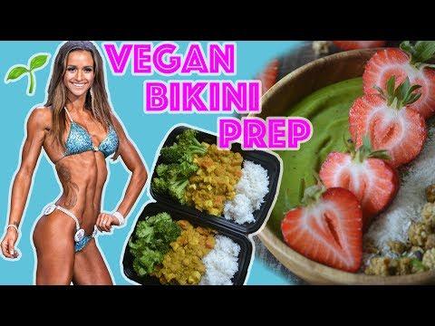 Vegan Bikini Prep Series Ep #1| Meal Prep | Fit Vegan Chef
