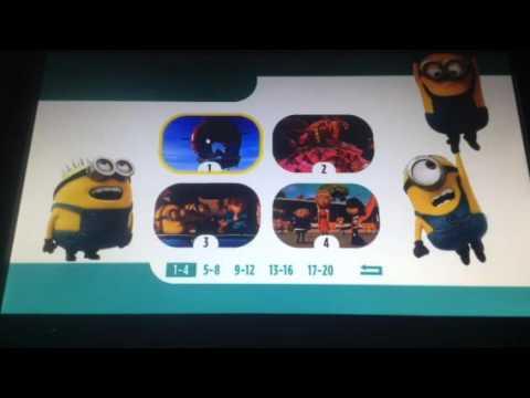 Download Despicable me 2 menu walkthrough