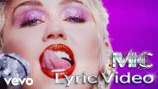Gambar cover Miley Cyrus - Midnight Sky (Lyric Video)