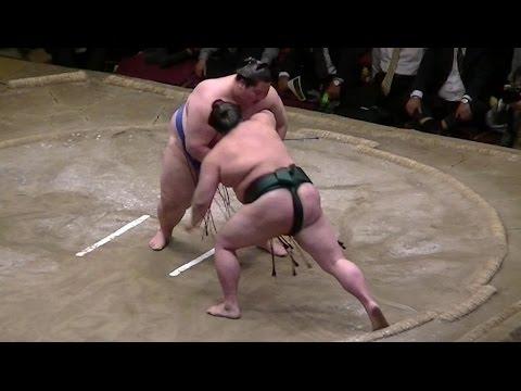 旭天鵬引退大相撲 正代-逸ノ城