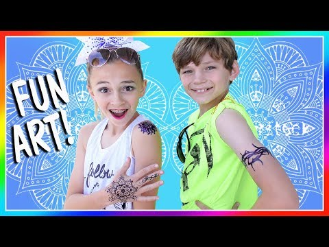 IT'S LEGAL FOR KIDS TO GET TATTOOS! | We Are The Davises