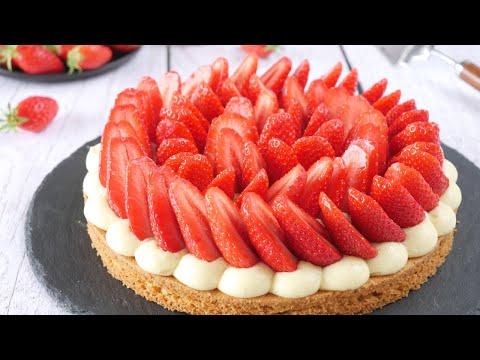recette-tarte-aux-fraises-facile---base-sablÉ-breton