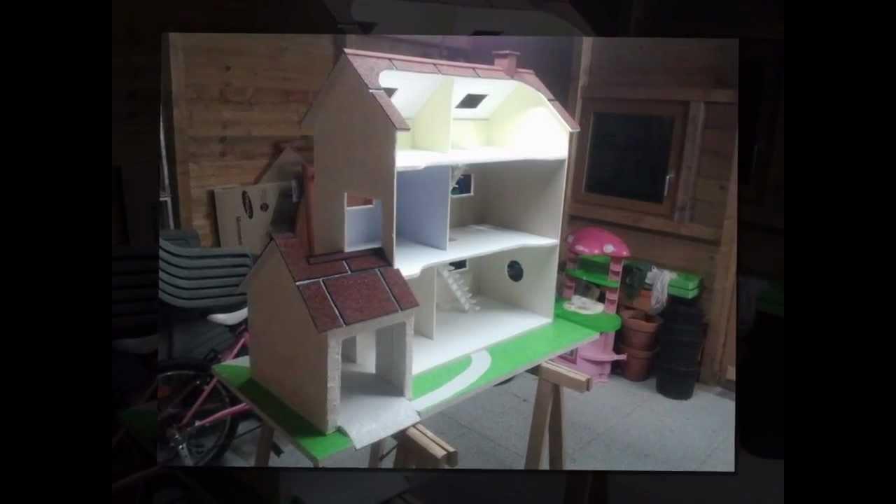 maison playmobil en bois  YouTube