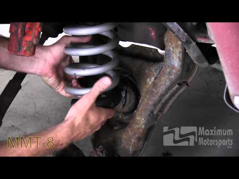 How to install 1979-2004 Mustang front springs.