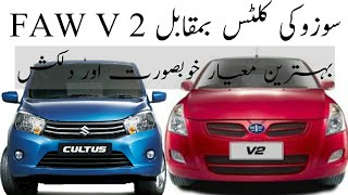 Suzuki cultus vs FAW v2