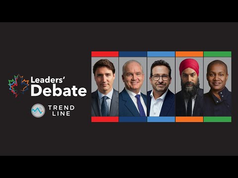 Nanos: COVID-19, anti-vaxxer protests and the economy could be key in leaders' debates   TREND LINE
