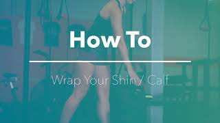 Dr  Cool Wraps   How to treat your Shin and Calf