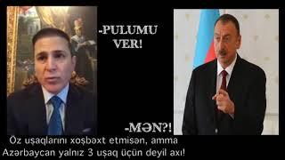 Hacı İbrahimin qardaşı İlham Əliyevə: pulumu ver!
