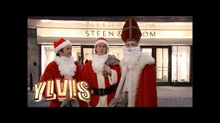 "Ylvis og Calle stjeler julegaver som ""The burgling Santas"" (English subtitles)"