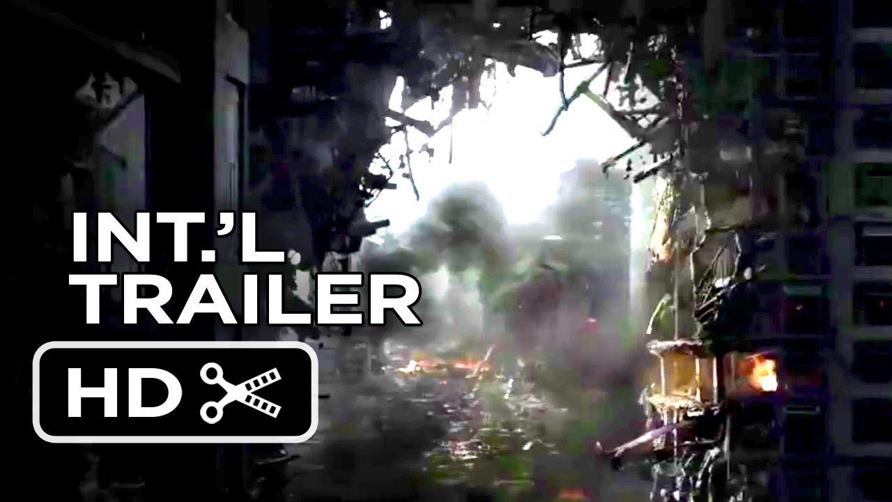 Download Godzilla Official International Trailer #2 (2014) - Aaron Taylor-Johnson, Elizabeth Olsen Movie HD
