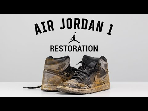 Vick Almighty Restores TRASHED Air Jordan 1 Shadow With Reshoevn8r