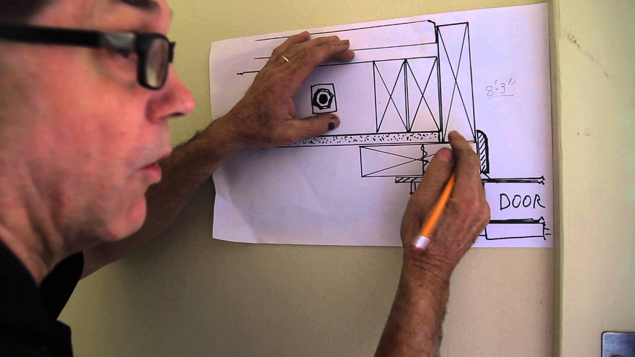 how to frame up for a garage door youtube