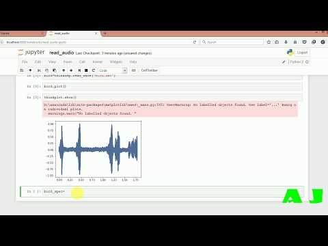 Think DSP to read audio file and make analysis in  python