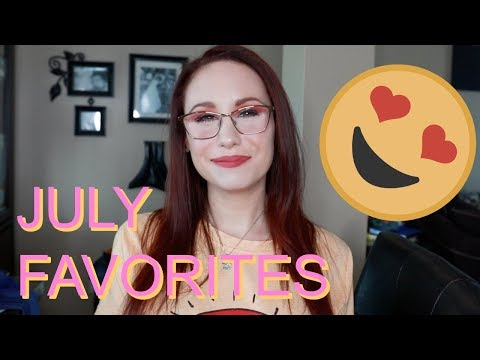 July Favorites! My Fave YouTubers, Skincare, Makeup, Books, Podcasts, Clothes! thumbnail