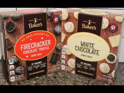 Baker's Cookie Balls No Bake Dessert Kit: Firecracker Chocolate Truffle & White Chocolate Review