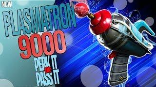 FORTNITE | *NEW* SCI-FI PISTOL - PLASMATRON 9000 | (BROKEN AF) AOE PISTOL | Perk It Or Pass It?